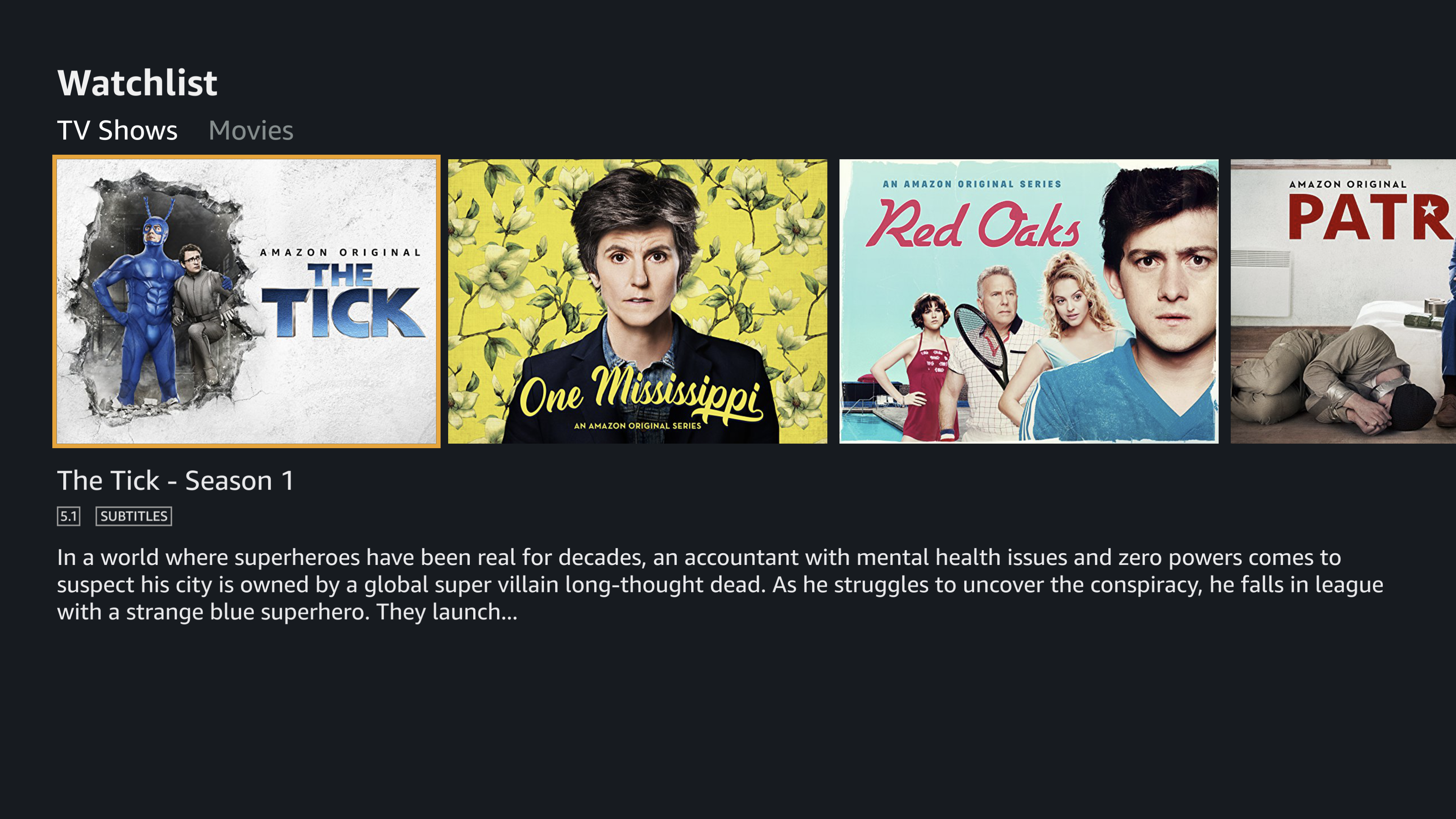 Amazon Prime Video screenshot 15