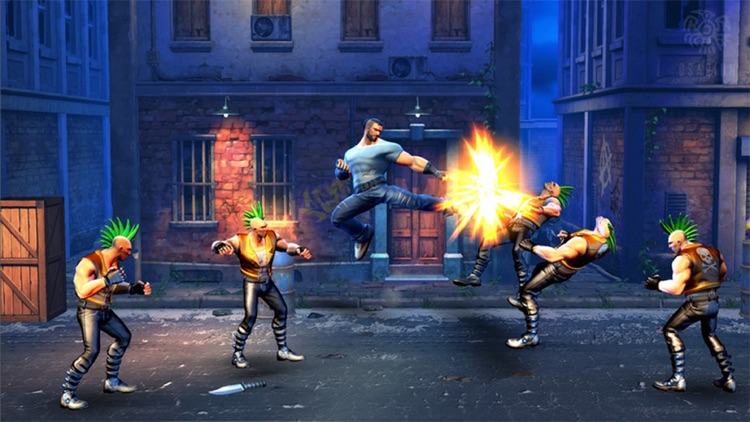 Ultimate Street Fight Hero screenshot-4