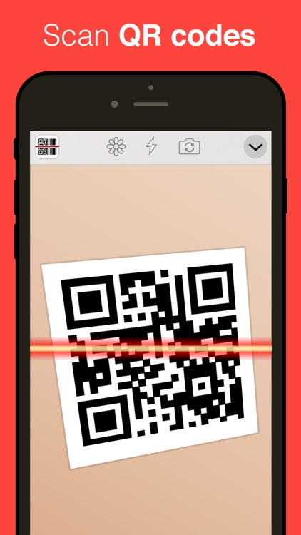 QR Reader for iPhone screenshot-0