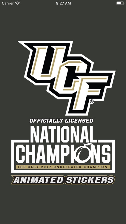 UCF® Stickers screenshot-0