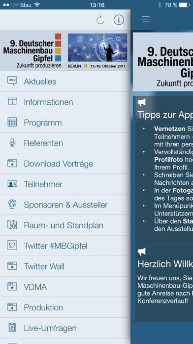 Deutscher Maschinenbau-GipfelScreenshot von 2