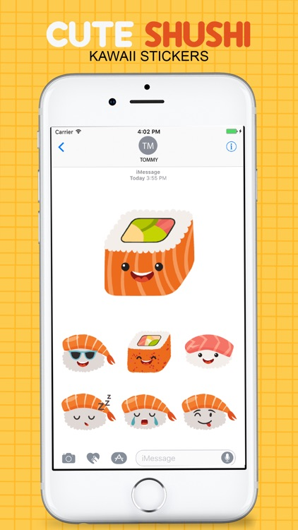 Sushi Kawaii Stickers screenshot-1