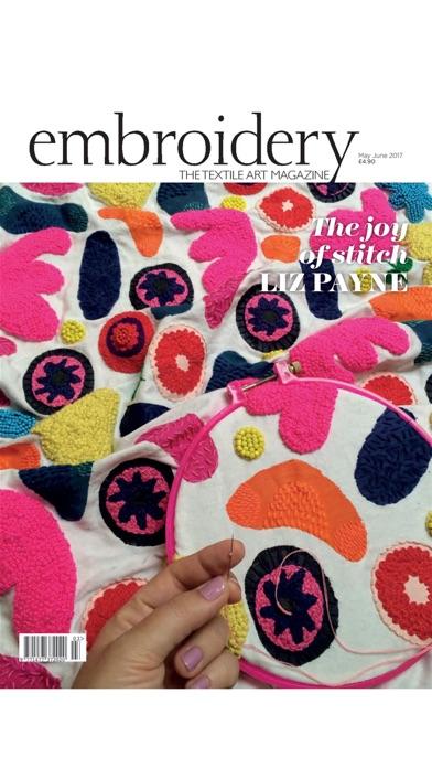 Embroidery Magazine –... screenshot1