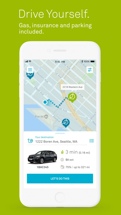 ReachNow-BMW Car & Ride Share screenshot-3