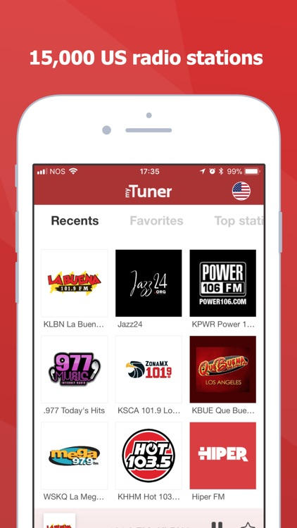 myTuner Radio - Live Stations screenshot-0