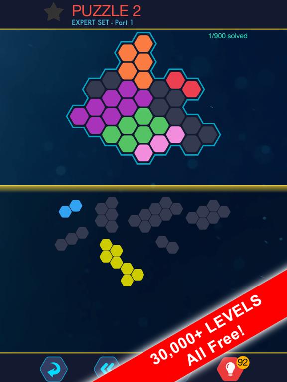 Hexa Block Ultimate! with Spin screenshot 6