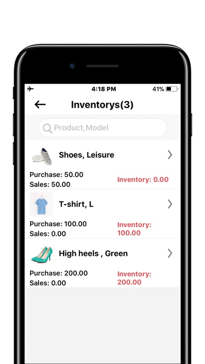 Inventory Manager for Retailer