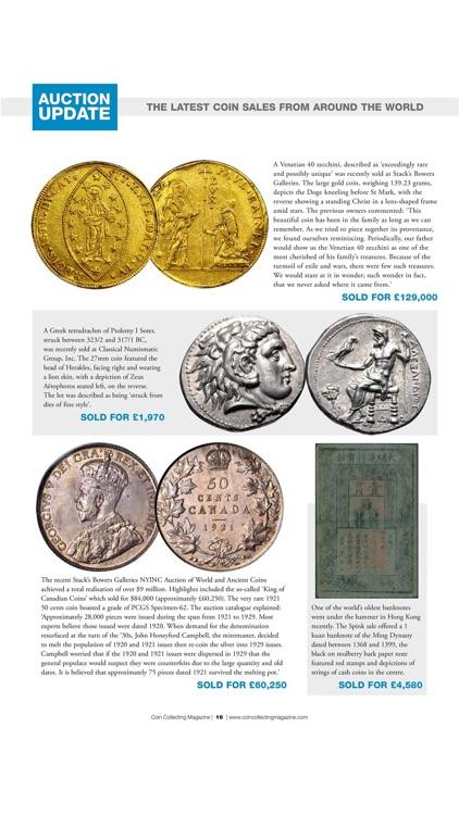 Coin Collector Magazine screenshot-3