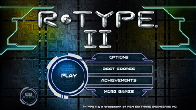 Screenshot from R-TYPE II