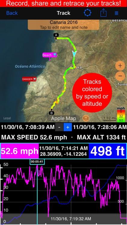 Compass 55. Map & GPS kit. screenshot-0