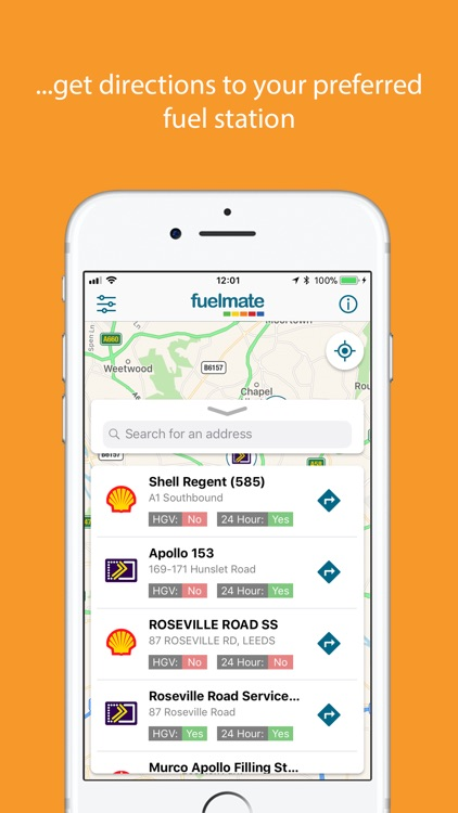 Fuelmate Garage Locator
