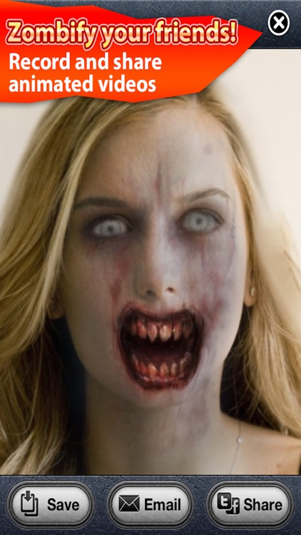 ZombieBooth: 3D Zombifier screenshot-2