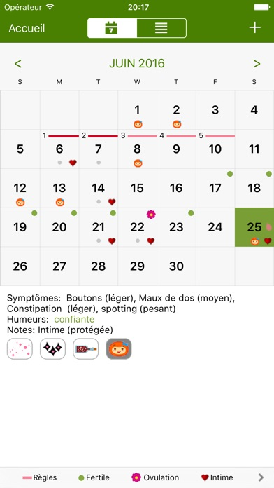 download Calendrier Féminin Deluxe apps 4