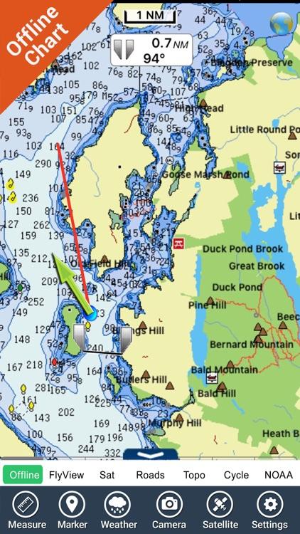 Acadia National Park - GPS Map Navigator