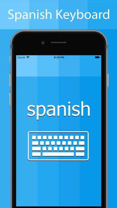 Spanish Keyboard - Translator screenshot one