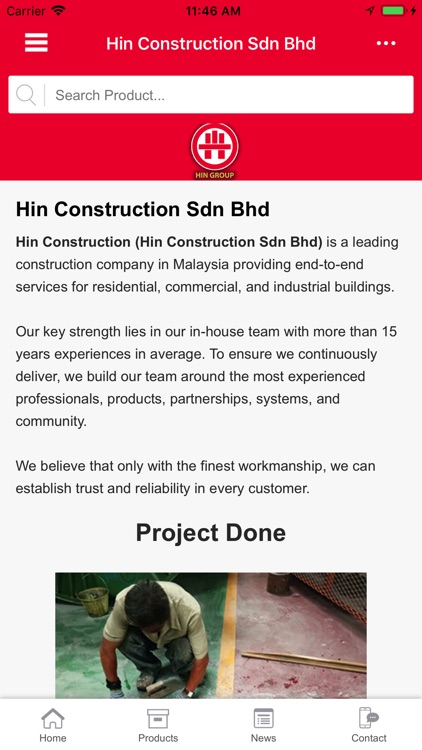 HIN Construction Sdn Bhd