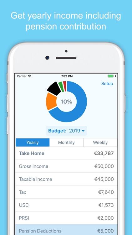 Irish Income Tax Calculator screenshot-4