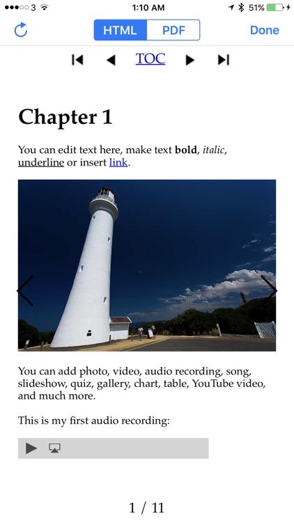 Creative Book Builder screenshot-0