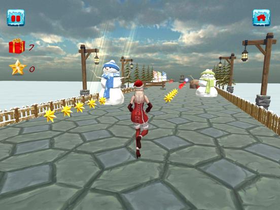 Christmas Santa Girl Run screenshot 2