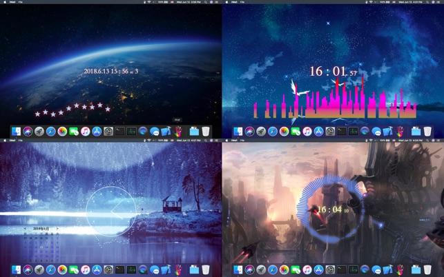 iWall-Dynamic Desktop Engine on the Mac App Store