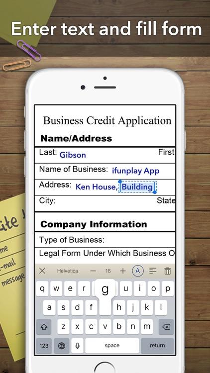 Scanner App - Scan Doc Fax PDF screenshot-3