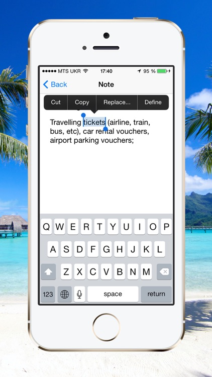 Vacation Packing Checklist screenshot-3
