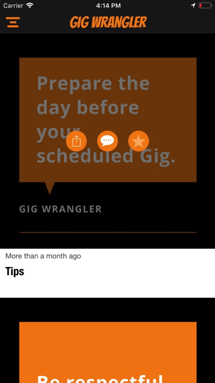 Gig Wrangler screenshot-5