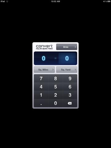 Screenshot of Convert Trial - Unit Converter