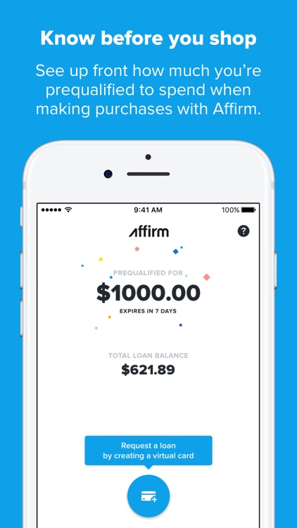 Affirm: Easy monthly payments