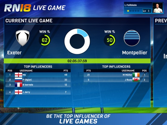 Игра Rugby Nations 18