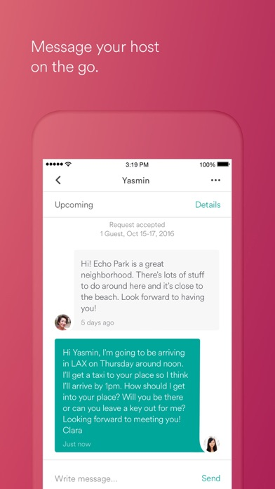 Screenshot 3 for Airbnb's iPhone app'