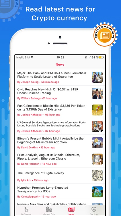 Crypto Currency Ticker for Bitcoin, Ethereum, IOTA screenshot-3
