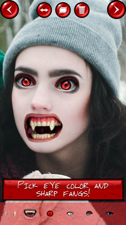 Vampire Yourself Camera Prank: Turn into a Monster
