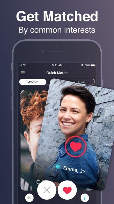 Just She - Lesbian Dating App