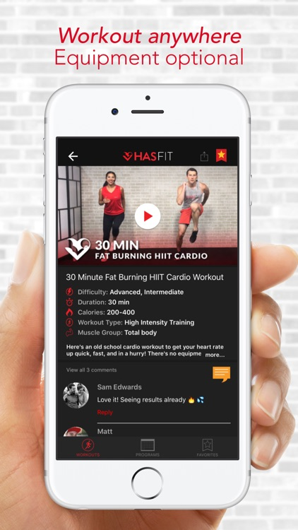 HASfit: Home Workout Routines screenshot-3