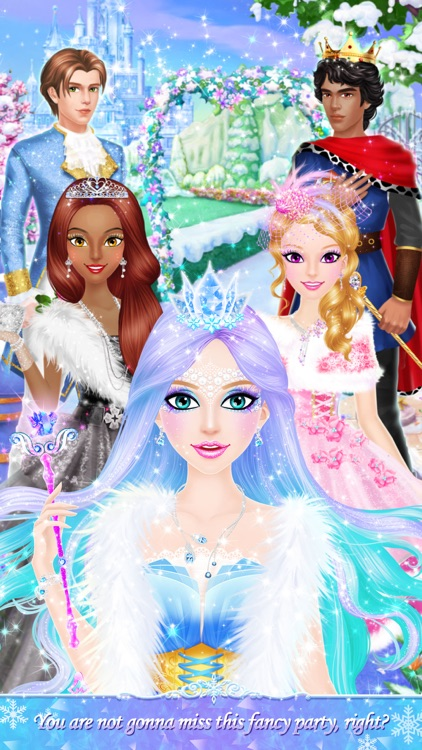 Princess Salon: Frozen Party screenshot-4