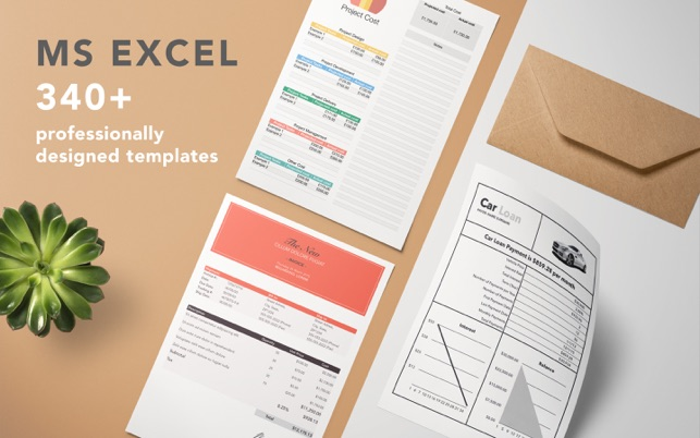 templates for ms excel by gn on the mac app store