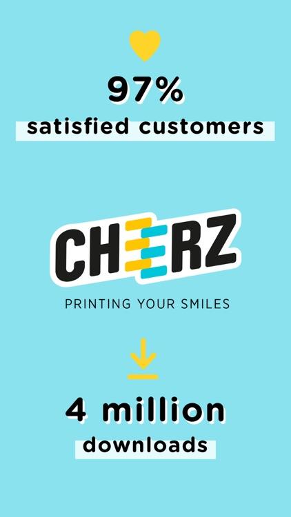 CHEERZ - Photo Printing screenshot-5