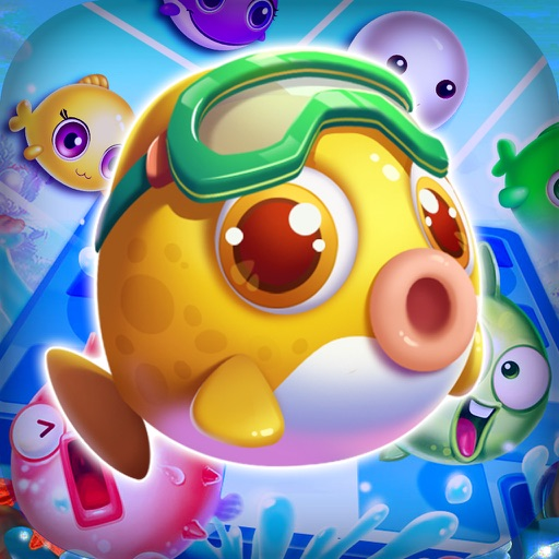 Charm Fish - Match 3 quest