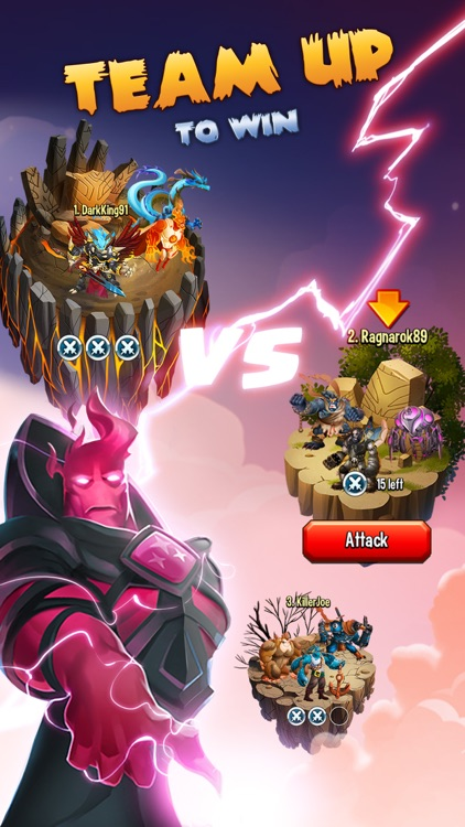 Monster Legends RPG - War, Fight & Heroes Game screenshot-3