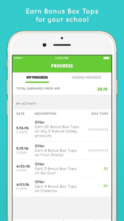 Box Tops® Bonus App – School Fundraising screenshot-3