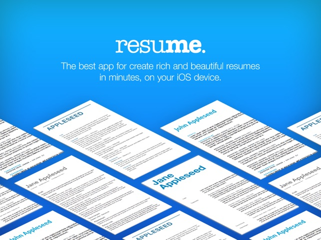 Resume Builder, Resume Creator Screenshot