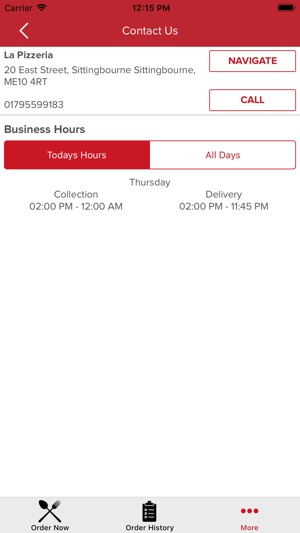 La Pizzeria Sittingbourne On The App Store