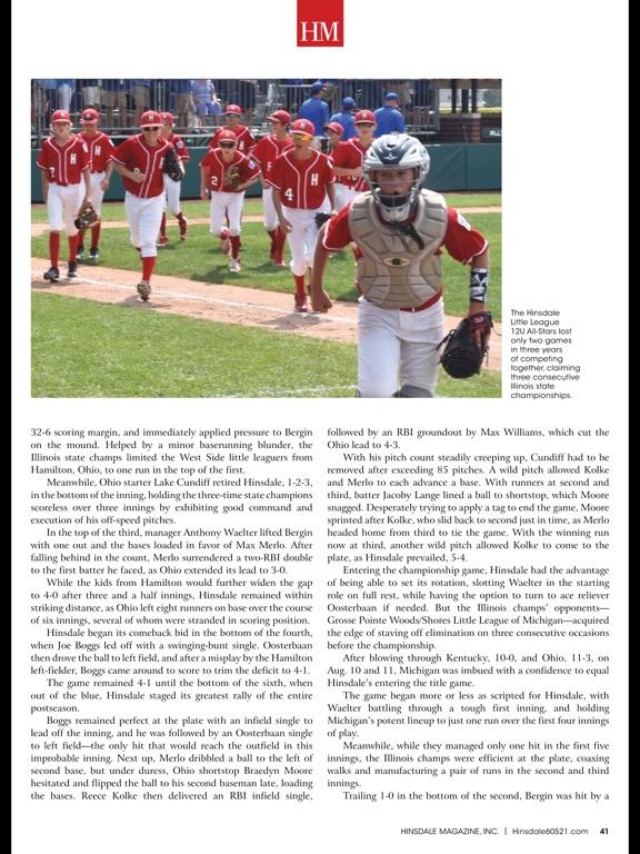Hinsdale Magazine screenshot 9