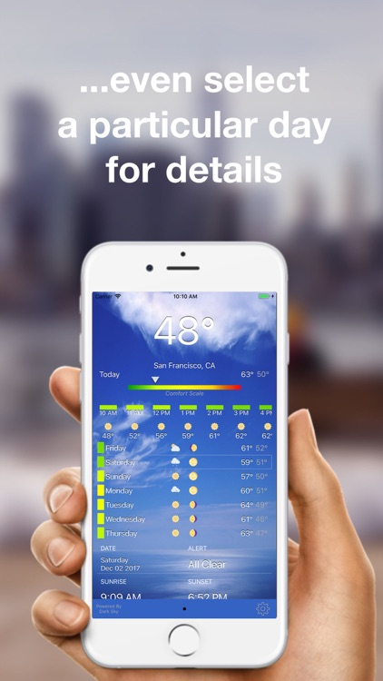 WeatherAI - Personal Forecast screenshot-2