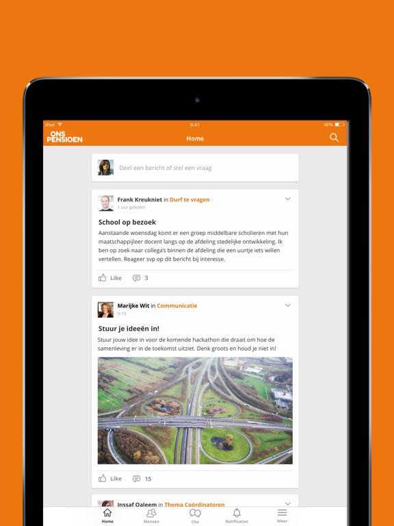 Image of OnsPensioen for iPad