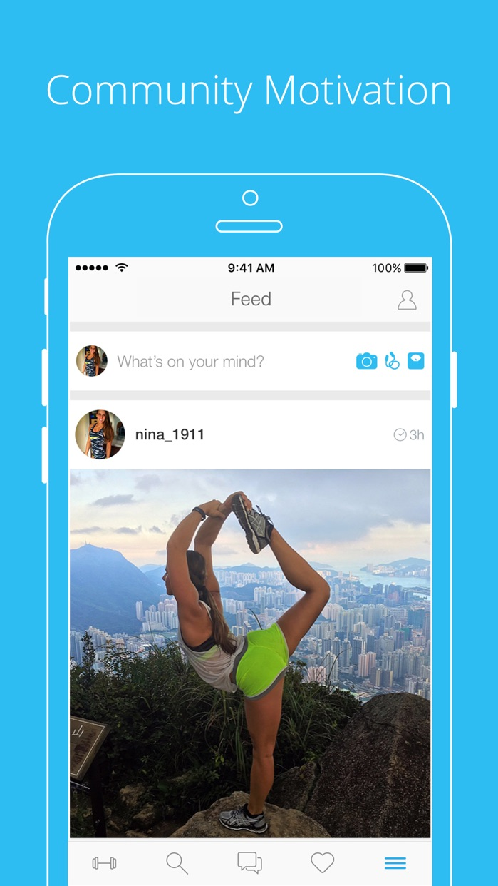 PumpUp - Workouts & Community Screenshot