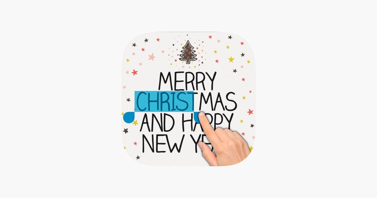 Weihnachtsgrüße & Karten im App Store