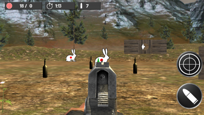 Shooting practice with bottles screenshot three