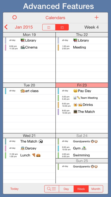 PocketLife Calendar screenshot-3
